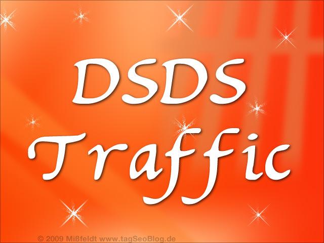 DSDS Website - was bringt Superstar-Traffic?