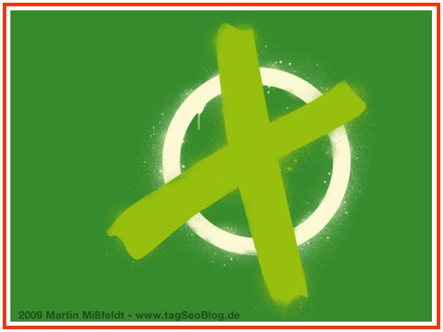 Grüne Partei wählen