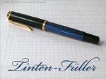 Tintenfüller (Füllfederhalter mit goldenen Einfassungen)