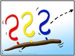 Drei Fragezeichen - Blog-Stöckchen