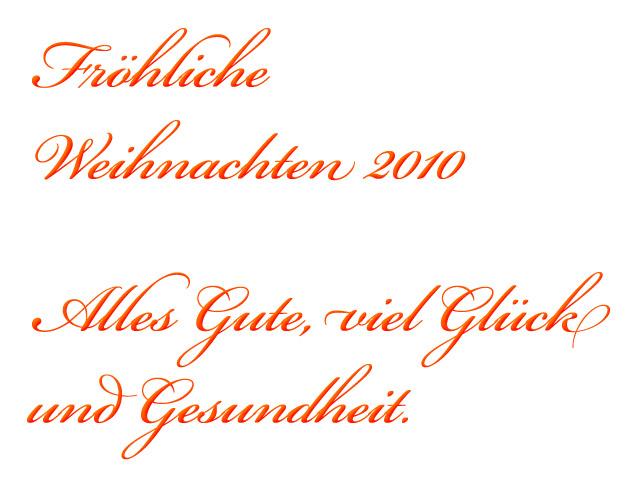 Fröhliche Weinhachten: Glück und Gesundheit!
