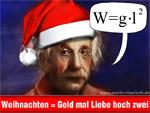 Frohe Weihnachten - Geld und Liebe