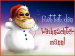 Rettet den Weihnachtsmann...