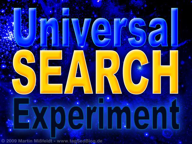 Universal Search Bild (Google Websuche zeigt Bilder)