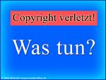 Urheberrecht - Copyright