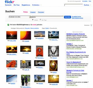 Flickr Bildportal