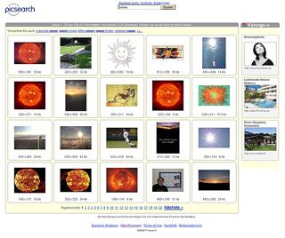 Picsearch - spezialisierter Bildersuchdienst