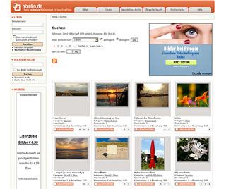 Pixelio - lizenzfreie Bilder mit Autorennennung