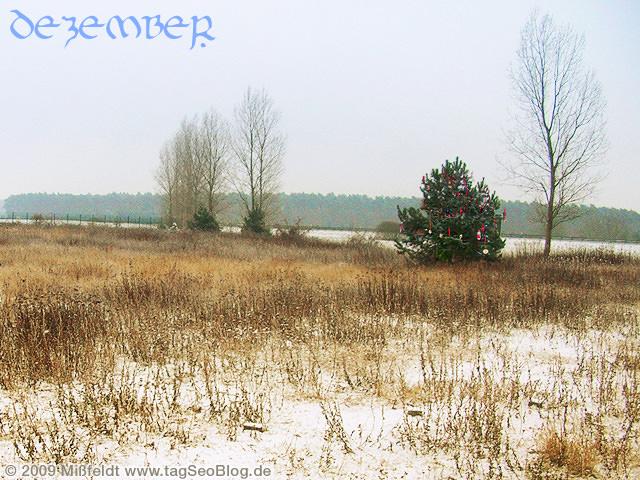 Weihnachtsmonat Dezember im Osten