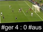 WM 2010: Deutschland Australiene 4 : 0