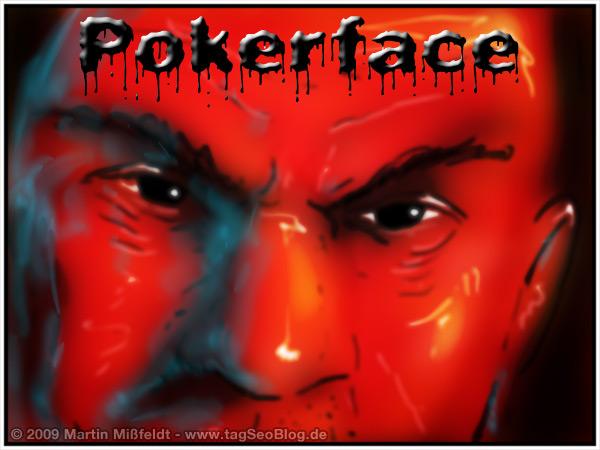 Pokerface Bild - Cool und abgezockt