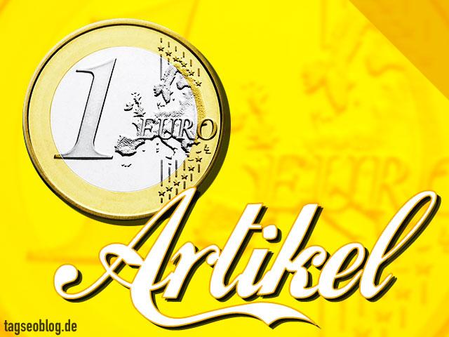 1 Euro Artikel ...
