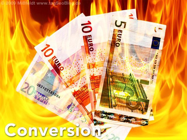 Website Conversion - Geld verdienen mit Landing Pages
