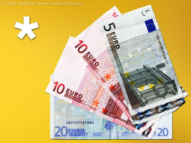 Euro Geldscheine (Banknoten)