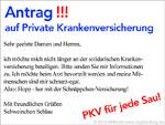 PKV - Antrag auf private Krankenversicherung