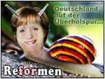 Angela Merkel - CDU Wahlkampf: Reformen