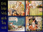 Der coole Job vom Weihnachtsmann (Weihnachtskarte 2011)