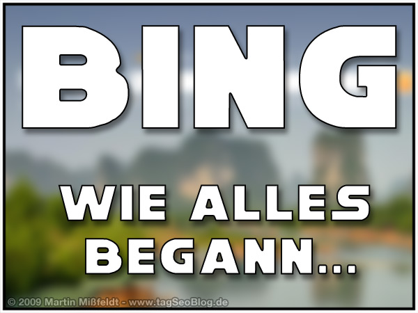 Die Bing-Maschine - wie alles begann (Fun Video)