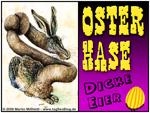Osterhase - dicke Eier?