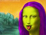 Mona Lisa - bunt und originell