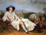 Goethe in Italien (von Johann Heinrich Wilhelm Tischbein)
