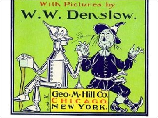 W.W. Denslow: der Zauberer von Oz