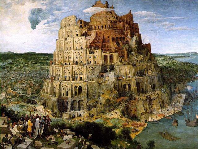 Der Turmbau zu Babel von Pieter Bruegel d.Ä.