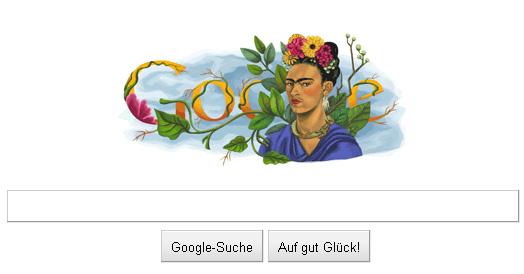 Frida Kahlo Google Doodle