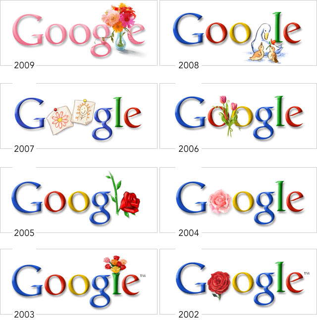 Google-Doodle Tradition am Muttertag