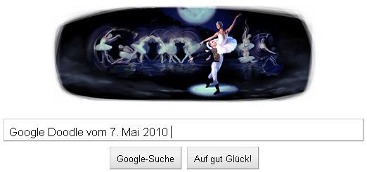 Google Doodle Tschaikowski