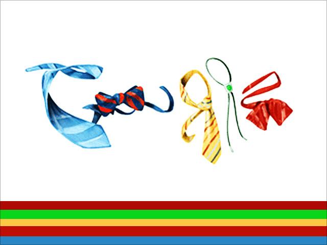 Google Doodle Zeichnung (Vatertag 2010)
