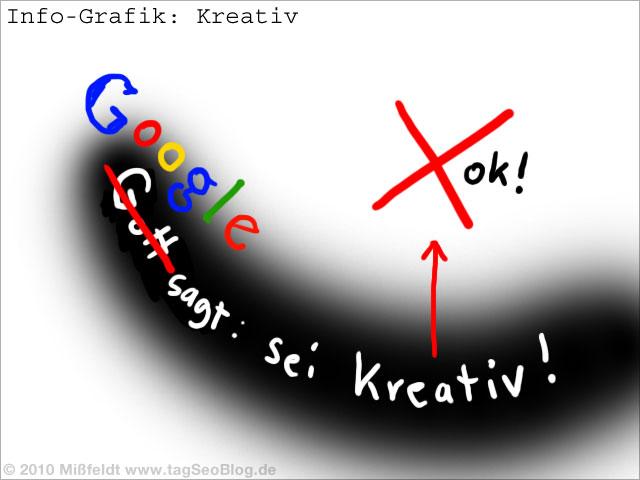Kreativität wird (von Google) unterbewertet!? Zwangsläufige Konsequenz künstlicher Intelligenz