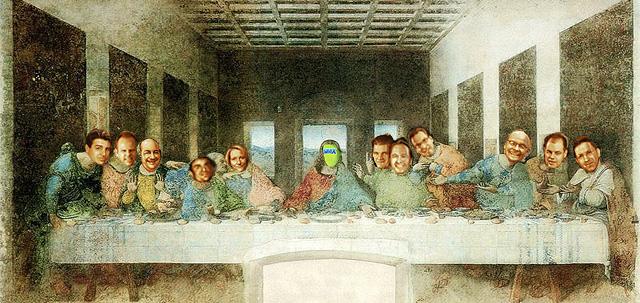SMX-Beirat - Entwurf nach Leonardo da Vincis Abendmahl