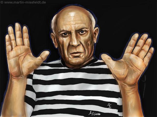 Malerhände (von Picasso)
