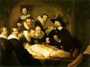 Rembrandt: Anatomie des Dr. Tulp (1632)