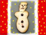 Weihnachtsmann Keks