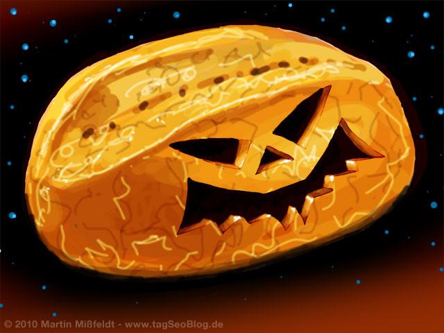 Halloween Brötchen :-)