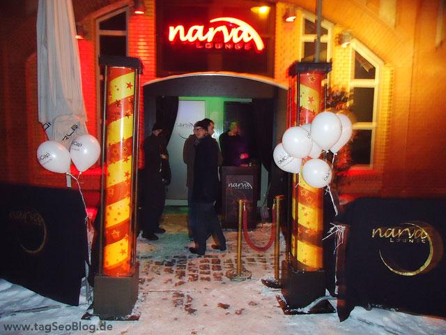 Narva Lounge Eingang