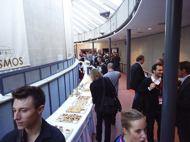 Buffet zum Mittag: Leckeres Mittagessen