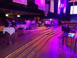 Blick in den Partysaal der OMCap