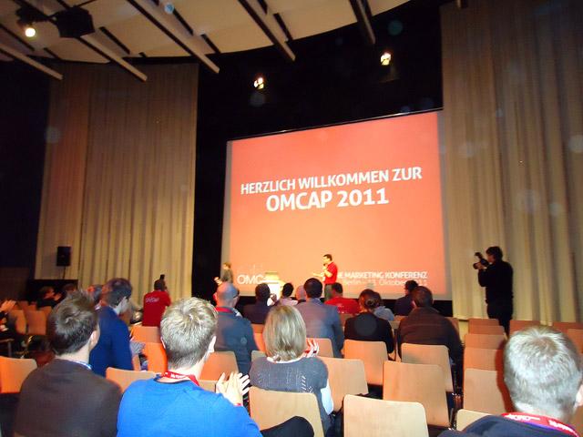 Willkommen zur OMCap 2011 von Gastgeber Andre Alpar
