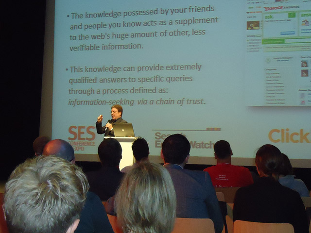 Keynote von Mike Grehan (SES)
