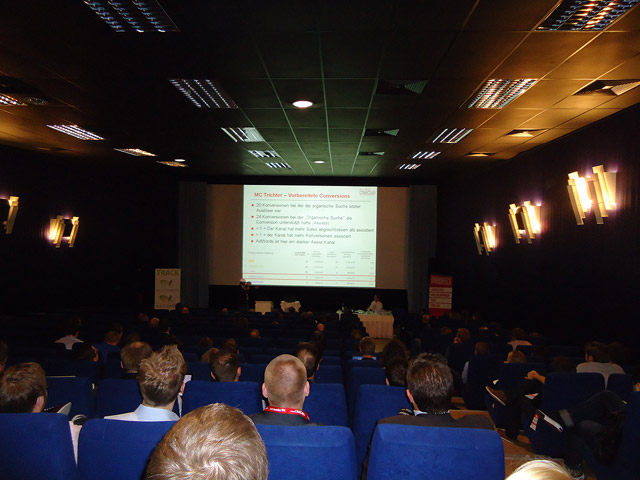 Blick in den Vortragssaal (mit Alexander Holl)