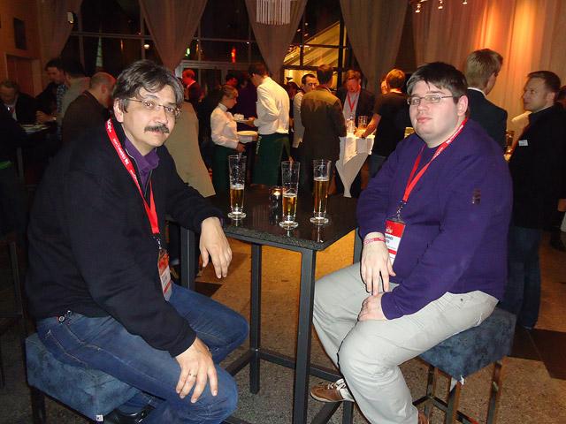 Die Seo Eminenzen Gerald Steffens und Johannes Siemers