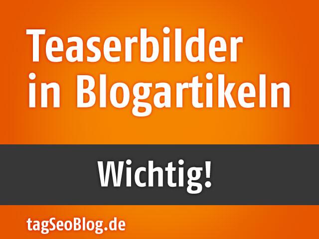 Bildteaser im Blogartikel