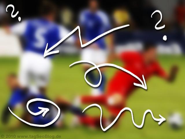 Schlechter Fußball - lausige Fouls
