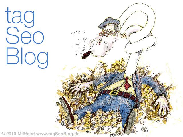 Im Geld schwimmen = tagSeoBlog