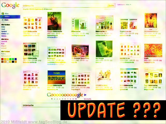 Return of Google Bildersuche Update