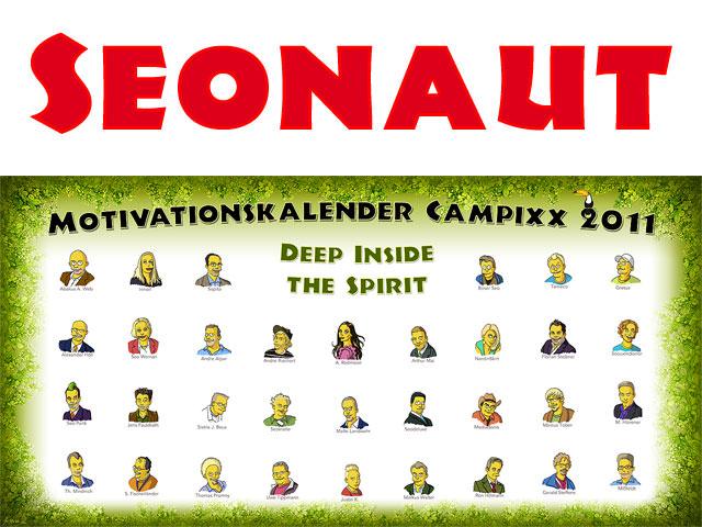 Seonaut Motivationskalender Campixx 2011