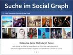 Neu: die facebook Suche